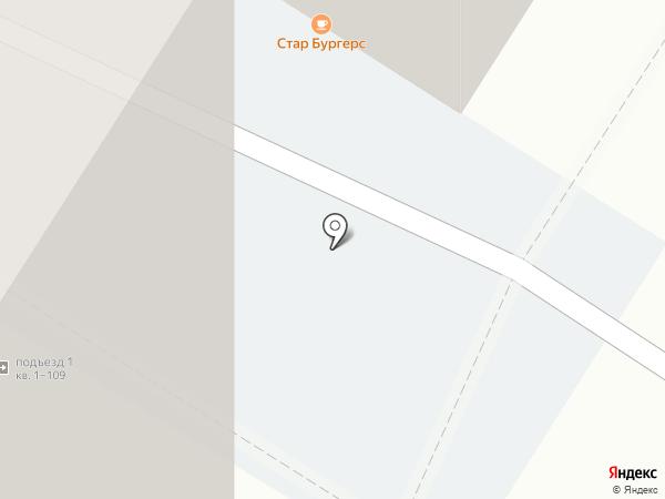Мераки на карте Иркутска
