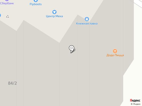 Эвалар на карте Иркутска