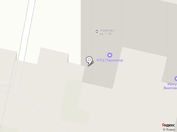 БАЙКАЛБАЙ на карте Иркутска