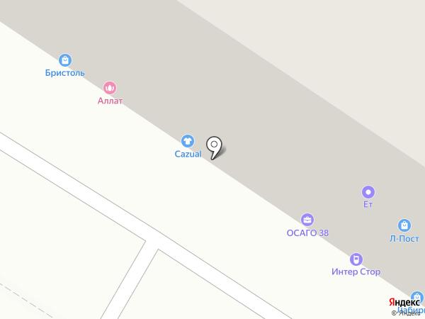 Perfect body на карте Иркутска