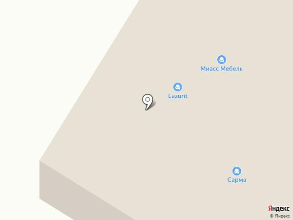 АР НУВО на карте Иркутска