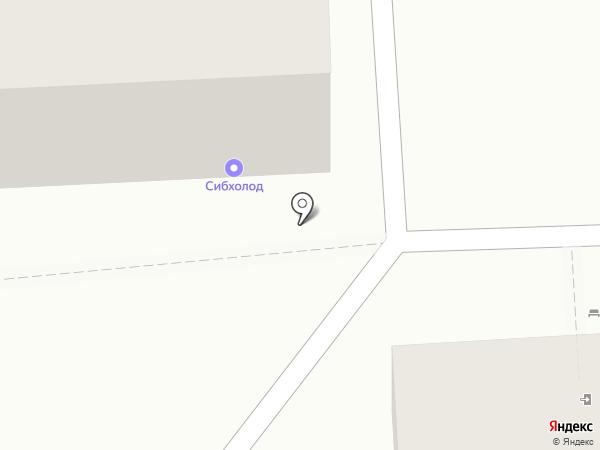 Сибхолод Байкал на карте Иркутска