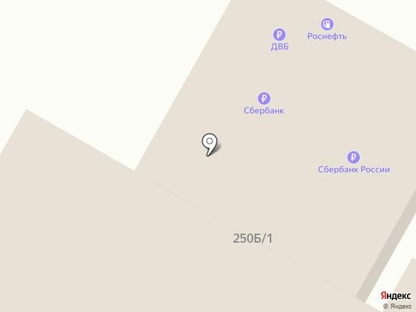 Банкомат, Росбанк, ПАО на карте Иркутска