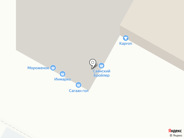Эконом на карте Иркутска