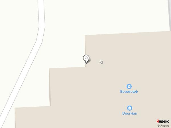 Акваресурс на карте Иркутска