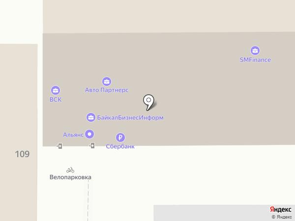 ФОРМАТ ПРАВА на карте Иркутска
