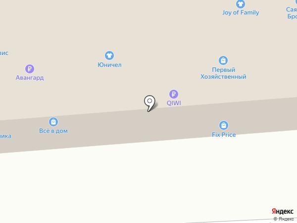 Стройкомплекс на карте Иркутска