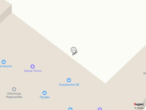 САНТЭЛ на карте Иркутска