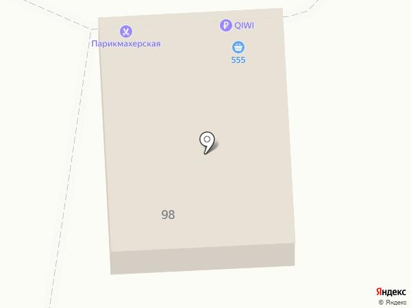 555 на карте Иркутска