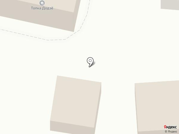 Искра на карте Иркутска