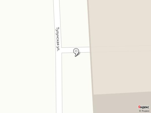 Иртэко на карте Иркутска
