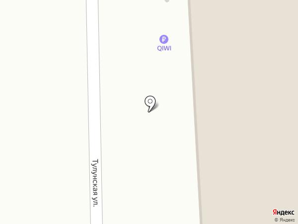 У Барина на карте Иркутска