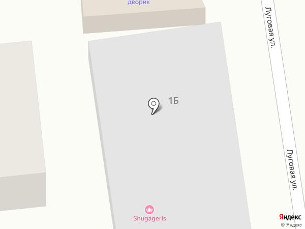 Садовник на карте Хомутово