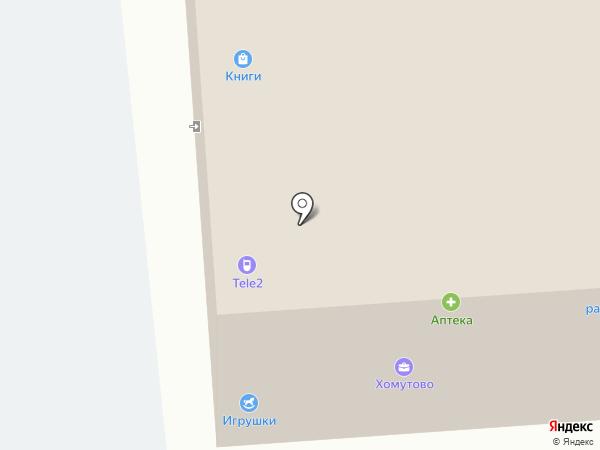 Литр на карте Хомутово