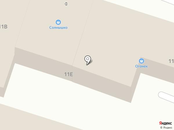 Солнышко на карте Хомутово
