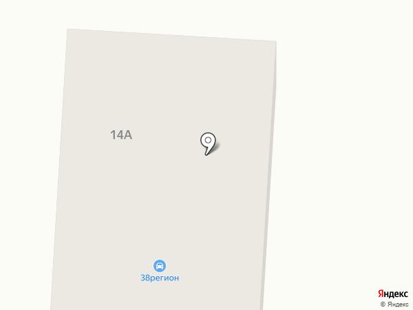 Регион 38 на карте Дзержинска