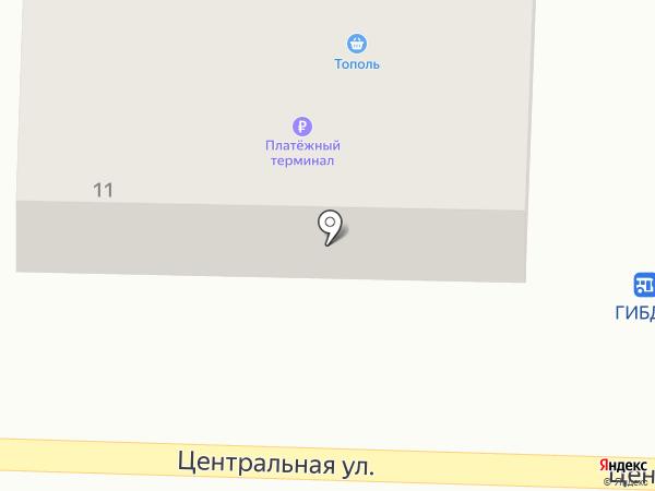 Магазин хозяйственных товаров на карте Дзержинска