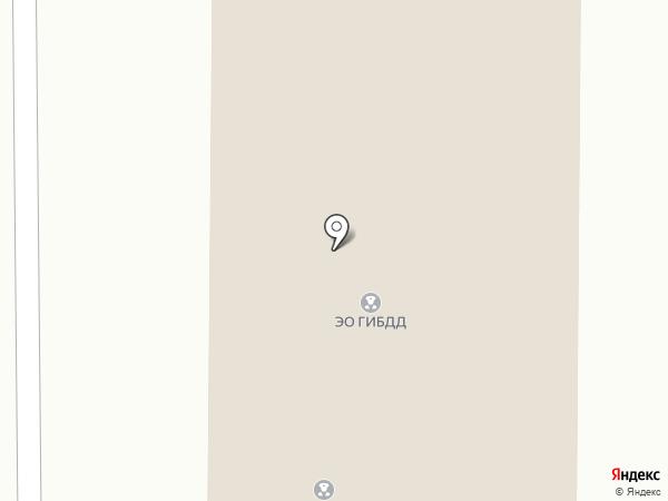 Отдел ГИБДД МУ МВД России по Иркутской области на карте Дзержинска