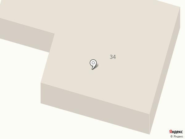 Подкова на карте Новой Разводной
