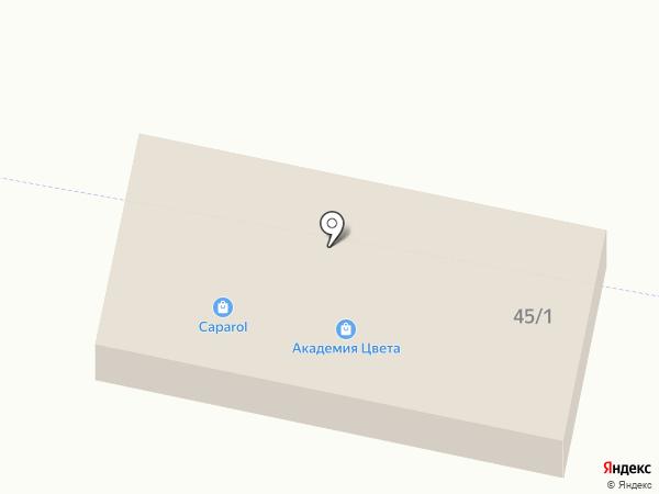 Гастроном на карте Новой Разводной