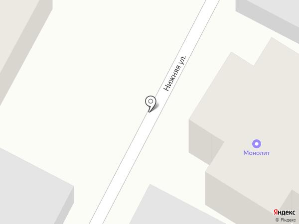 Монолит на карте Новой Разводной