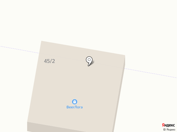BeerЛога на карте Новой Разводной