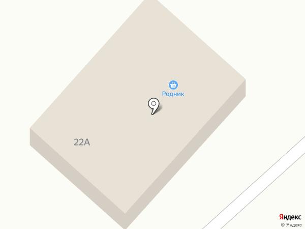 Родник на карте Куды