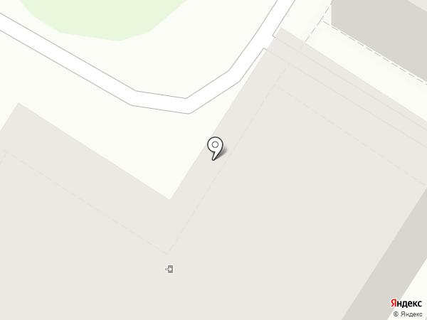 Строящийся коттеджный поселок на карте Новолисихи