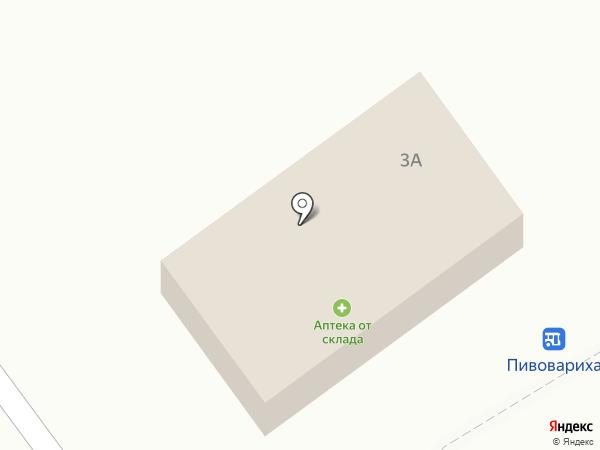 Почтовое отделение на карте Пивоварихи