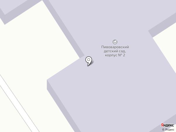 Детский сад на карте Пивоварихи