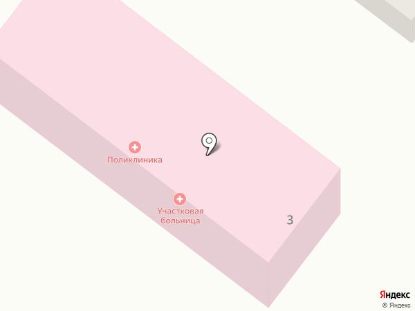 Участковая больница на карте Большой Речки