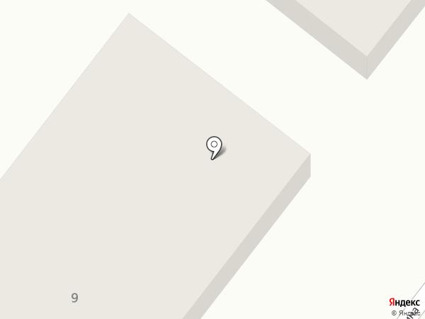 Скороход на карте Большой Речки