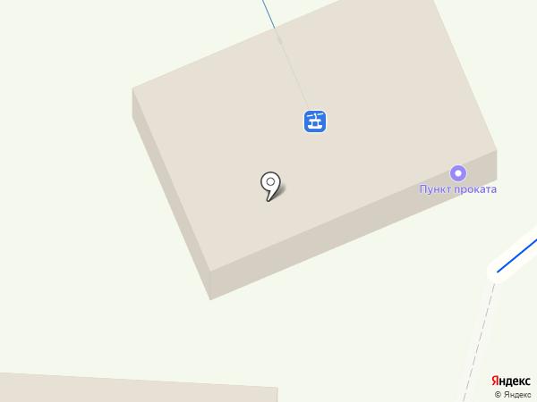 Истлэнд на карте Листвянки