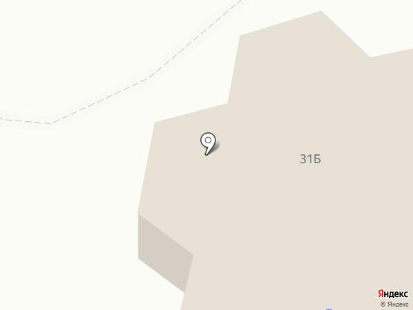 Свалъ на карте Листвянки