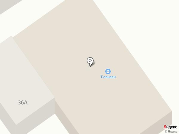 Тюльпан на карте Гурульбы