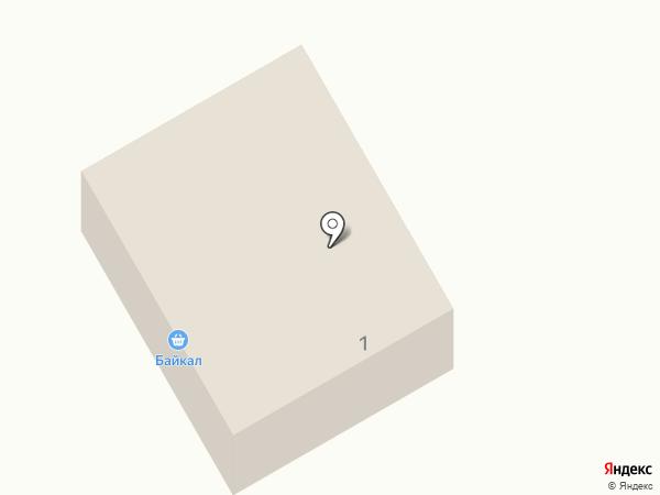 Байкал на карте Гурульбы