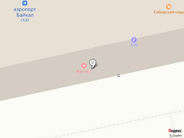 Добролет на карте Улан-Удэ