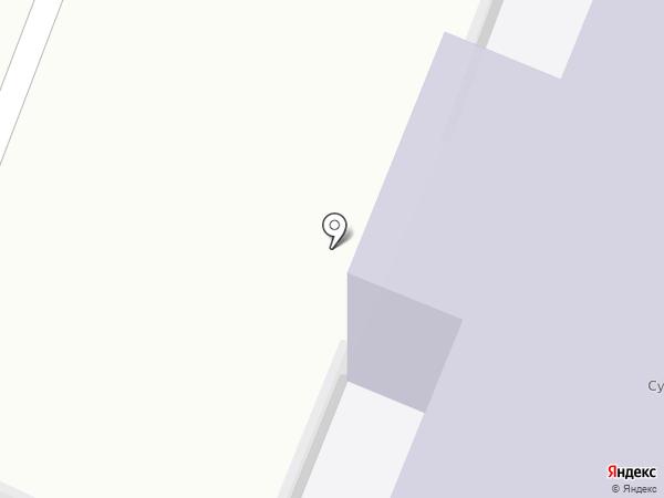 Сужинская средняя общеобразовательная школа на карте Сужи