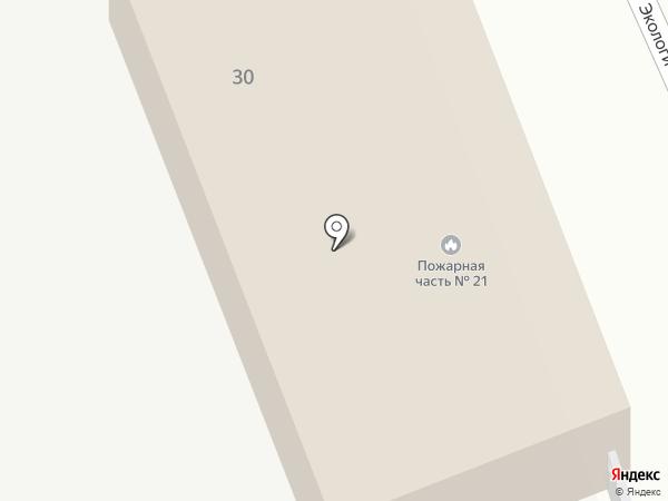 Пожарная часть №21 с. Сотниково на карте Сотниково