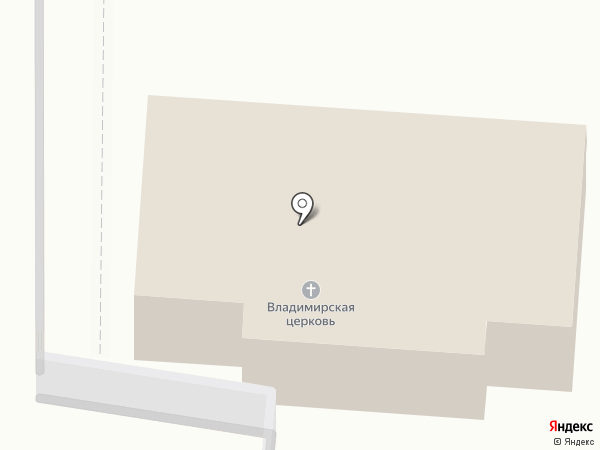 Храм в честь иконы Божьей матери Владимирской на карте Сотниково