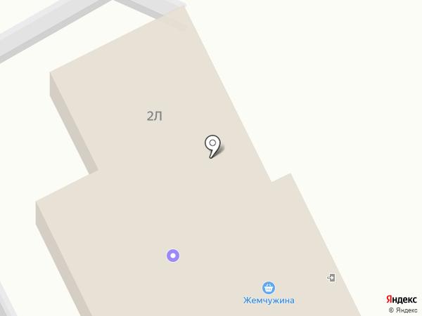 Продуктовый магазин на Трактовой на карте Сотниково