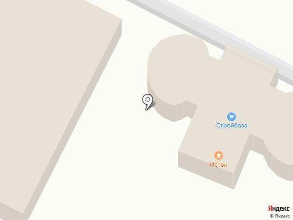 У Истока на карте Улан-Удэ