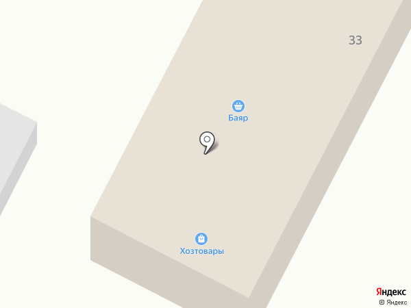 Баяр на карте Сужи