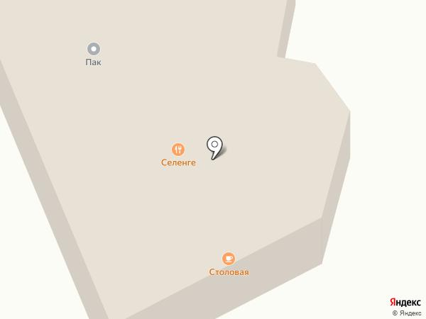 Сэлэнгэ на карте Сотниково