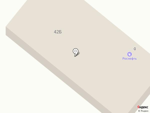 АЗК Роснефть на карте Улан-Удэ