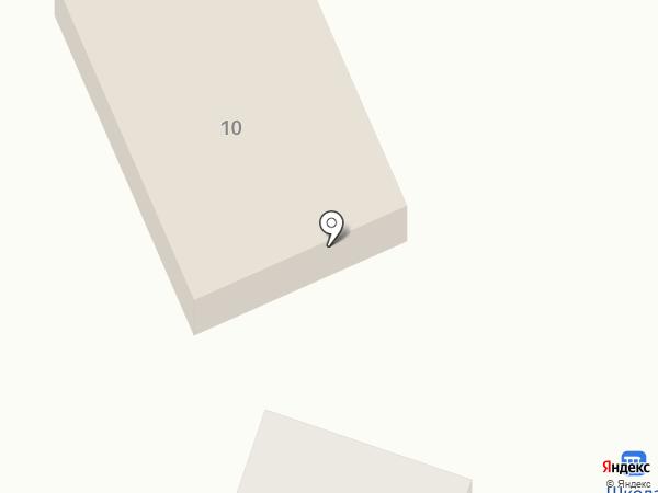 На Школьной на карте Нижнего Саянтуя