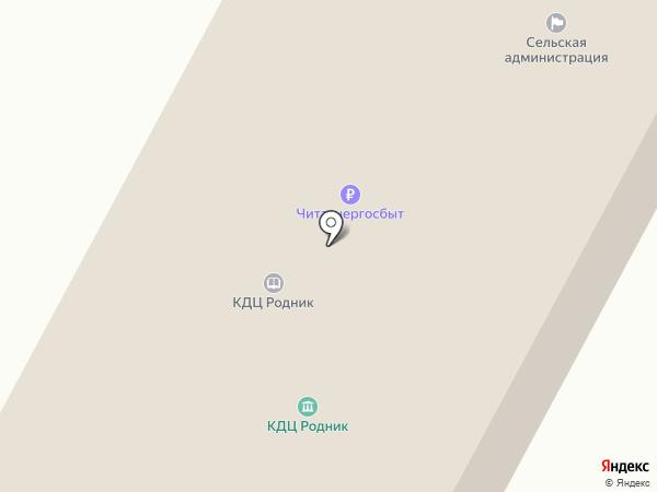 Культурно-досуговый центр на карте Нижнего Саянтуя
