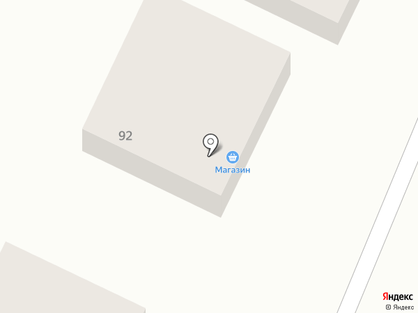 Продовольственный магазин на карте Улан-Удэ