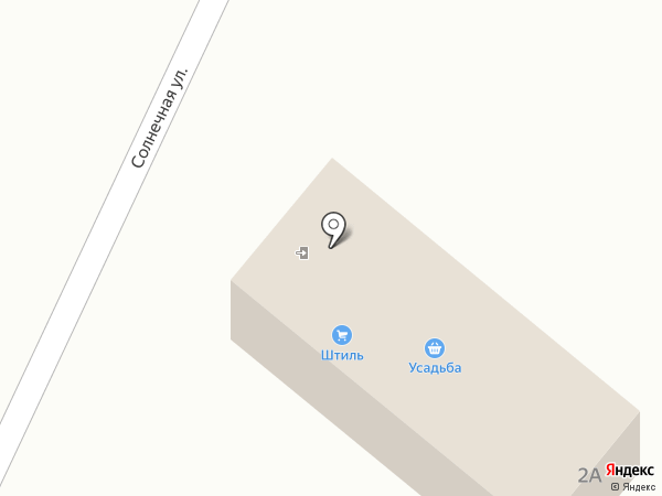 Штиль на карте Нижнего Саянтуя