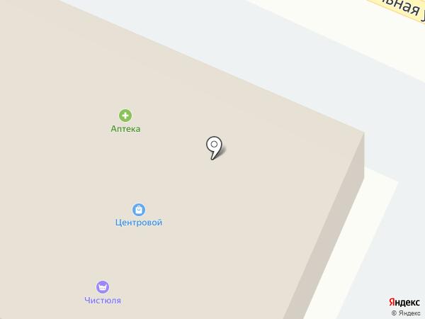 Центровой на карте Поселья